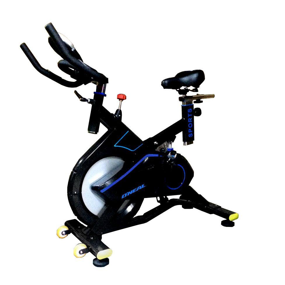 Bicicleta Ergometrica Spinning Preta 120kg Oneal Tp1700