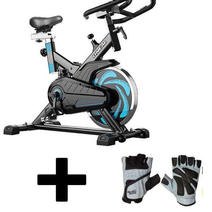 Bicicleta ergometrica spinning luvas academia oneal tp1000