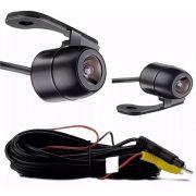 Câmera de ré automotiva Borboleta Visão Noturna Colorida Estacionamento