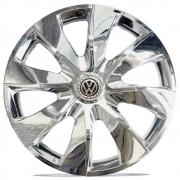 Jogo de Calotas Volkswagen Prime Cromado Aro 13 Universal Poliparts