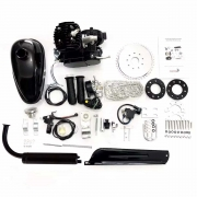 Motor para Bicicleta 2 Tempos Bike Motorizada 80cc 3hp 5000 Rpm kit Completo Moskito a Gasolina Poliparts