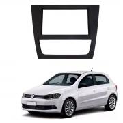 Moldura Volkswagen Gol Saveiro Voyage G6 9 Polegadas 2 Din Grafite Poliparts