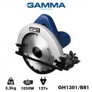"""Serra Circular Gamma Elétrica Hobby 1050 Watts 7.1/4"""" 185mm 127v GH1301/BR1 Poliparts"""
