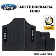 Tapete Borracha Ford Fiesta Ka Escort Ecosport Todos Ford Poliparts