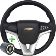 Volante Com Comando Chevrolet Cruze Pelicula Esportivo Cubo Vectra Astra S10 Opala Chevette Poliparts