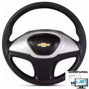 Volante Esportivo Celta Novo Corsa Celta Astra Monza Chevette Som10 Blazer Silverado Meriva Zafira Omega Kadett Opala Chevrolet + Cubo Gm
