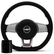Volante Esportivo Golf Gti Mk7 Corsa Celta Astra Monza Chevette S10 Blazer Silverado Meriva Zafira Omega Kadett Opala Chevrolet + Cubo Gm