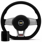 Volante Chevrolet Mk7 Esportivo Cubo Vectra Astra 1993 a 2011 Meriva Zafira 2000 a 2013 Poliparts