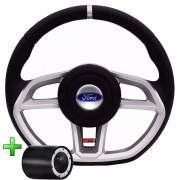 Volante Ford Gti Esportivo Cubo Fiesta Ka Ecosport Escort Hobby Zetec F100 F1000 F75 F250 Poliparts
