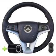 Volante Mercedes Benz Cruze Multifuncional Cubo Caminhão Mb 1620 1614 1714 1621