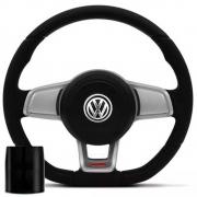 Volante Volkswagen Mk7 Esportivo Cubo Gol 1976 a 2013 Golf 1999 a 2013 Parati Saveiro 1982 a 2013 Poliparts