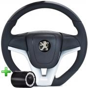 Volante Peugeot Camaro Esportivo Cubo Atacado Poliparts