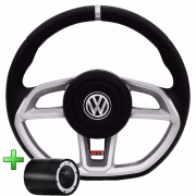 Volante Volkswagen Gti Esportivo Cubo Gol Quadrado G2 G3 G4 G5 G6 1994 a 2013 Poliparts