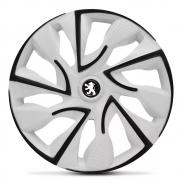 Jogo de Calotas Peugeot DS4 Branco Aro 14 Universal Poliparts