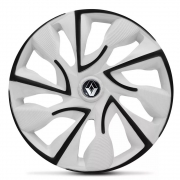 Jogo de Calotas Renault DS4 Branco Aro 14 Universal Poliparts