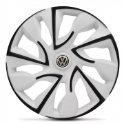 Jogo de Calotas Volkswagen DS4 Branco Aro 14 Universal Poliparts