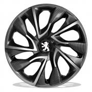 Jogo de Calotas Peugeot DS4 Sport Grafite Aro 15 Universal Poliparts