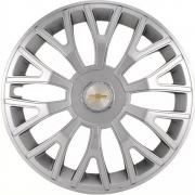 Jogo de Calotas Chevrolet Triton Sport Prata Aro 14 Universal Poliparts