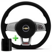 Volante Com Comando Chevrolet Mk7 Esportivo Cubo Vectra Astra S10 Opala Chevette Poliparts