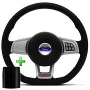 Volante Multifuncional Ford Mk7 Esportivo Cubo Fiesta Ka Ecosport Escort Hobby Zetec F100 F1000 Poliparts