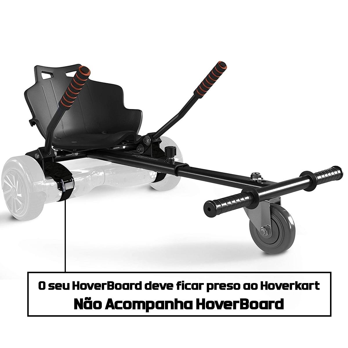 Suporte Hoverkart para Hoverboard Universal até 100 Kg Poliparts