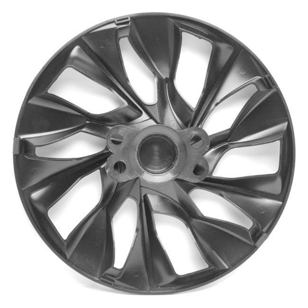 Jogo 4 Calota DS5 Aro 14 Black Gold Rodas Volkswagen 4x100 / 4x108 / 5x100 Universal Vw