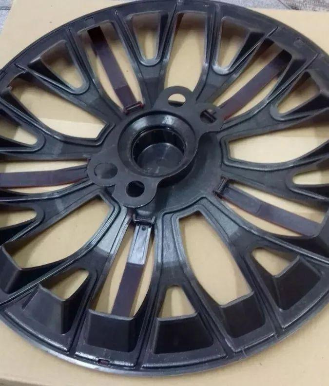 Jogo 4 Calota Triton Sport Aro 14 Prata Rodas Fiat 4x100 / 4x108 / 5x100 Universal