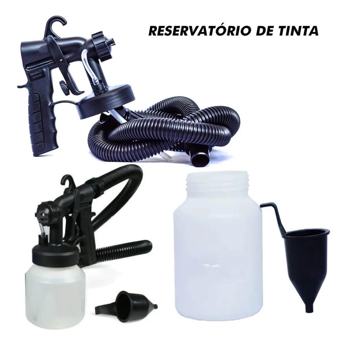 Pistolada De Pintura Tinta Elétrica Compressor