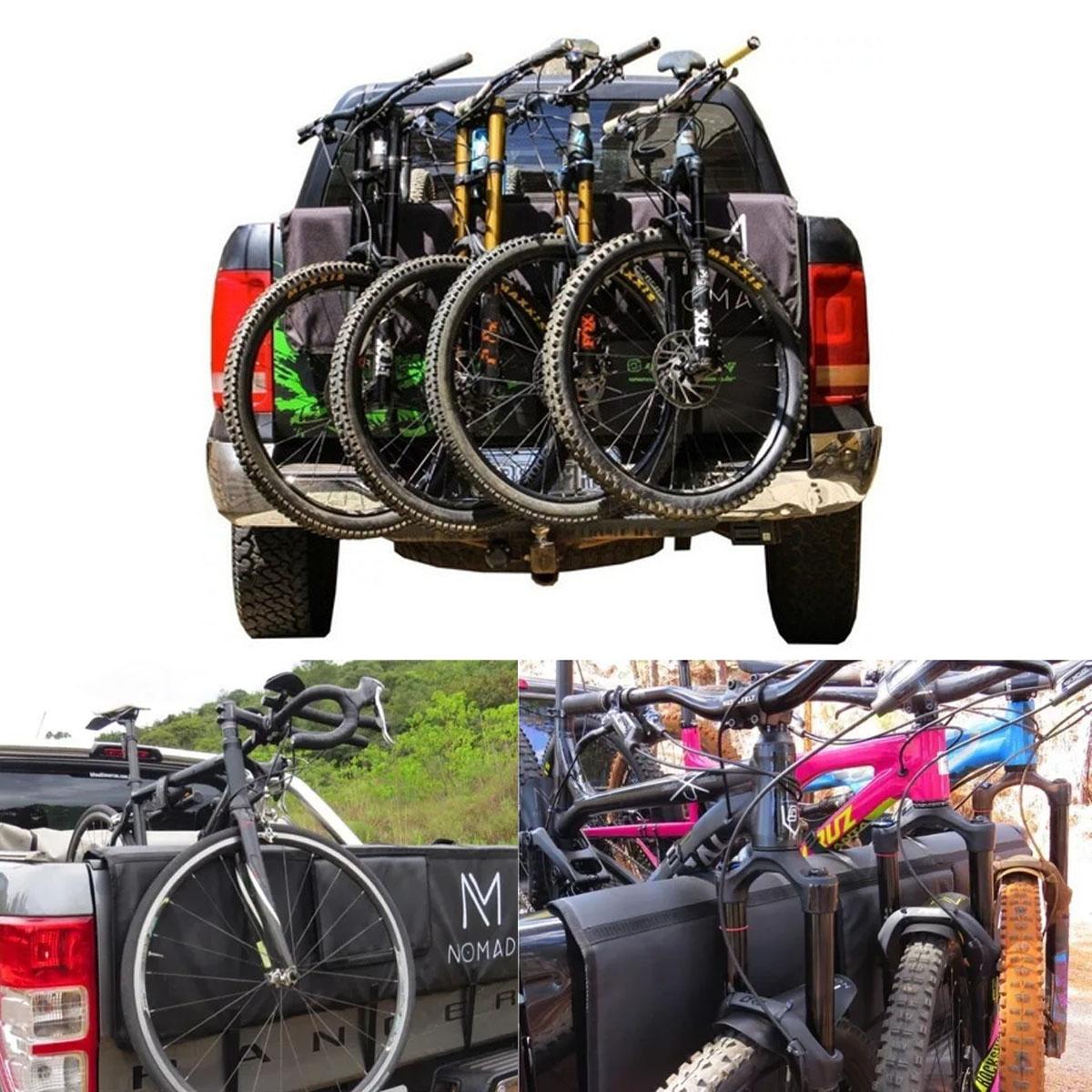 Truckpad Grande Nomad Suporte para Bicicleta até 5 Bike Poliparts