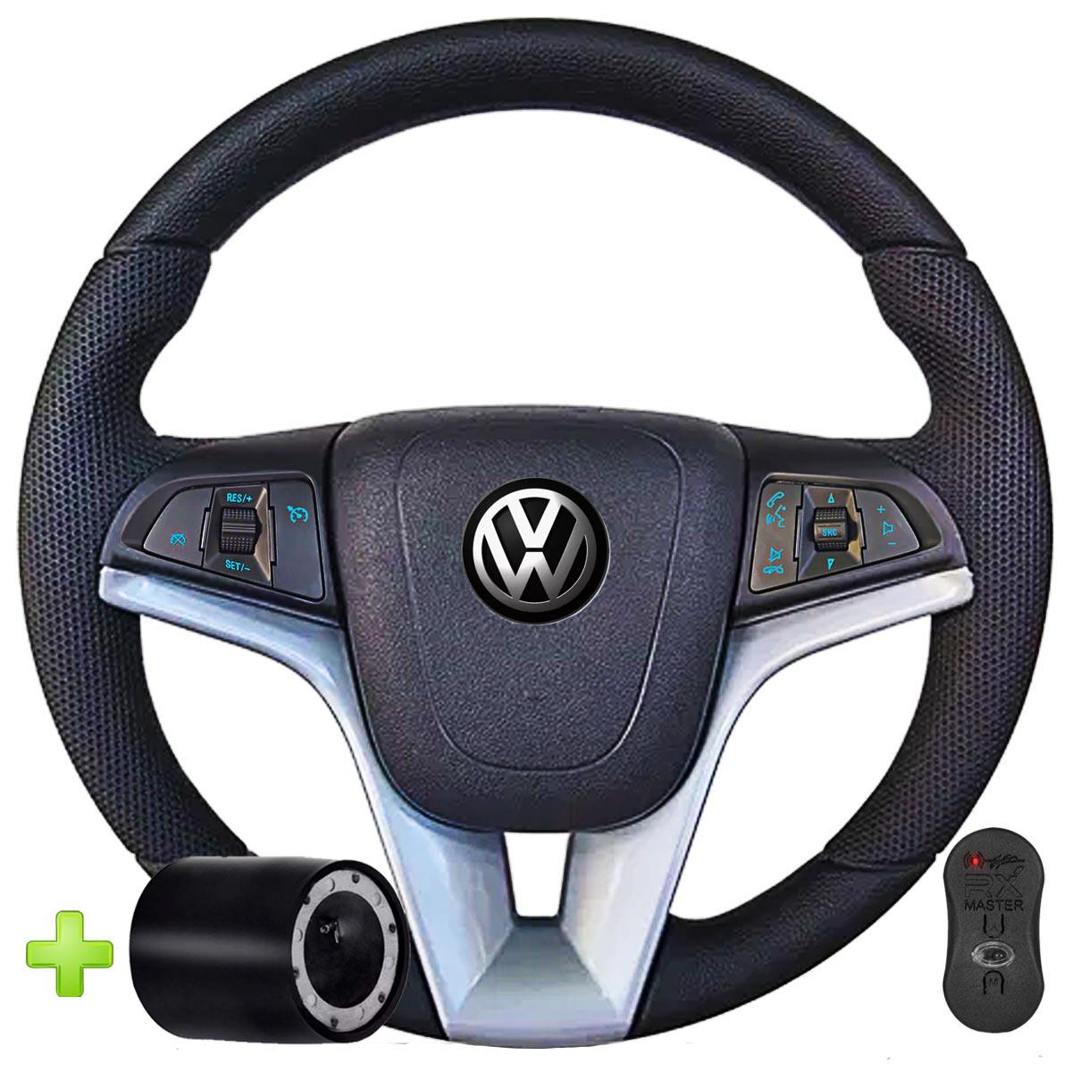 Volante Com Comando Volkswagen Cruze Esportivo Cubo Golf Saveiro Parati Fox Voyage Poliparts