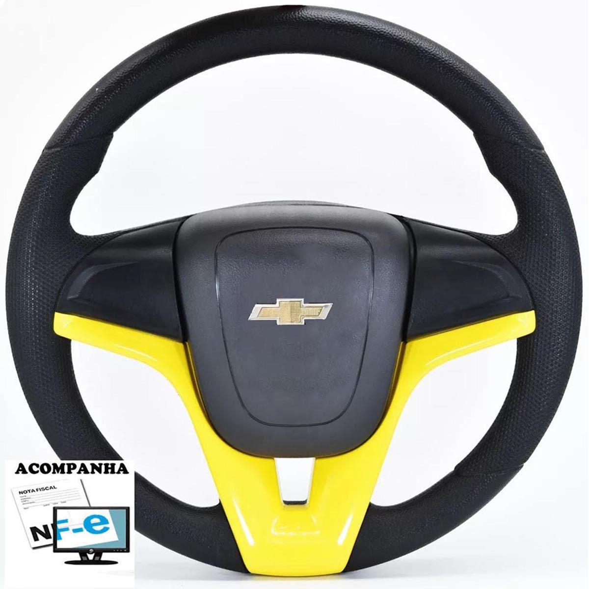 Volante Esportivo Cruze Celta 2000 até 2013 Automotivo com Cubo Chevrolet Gm