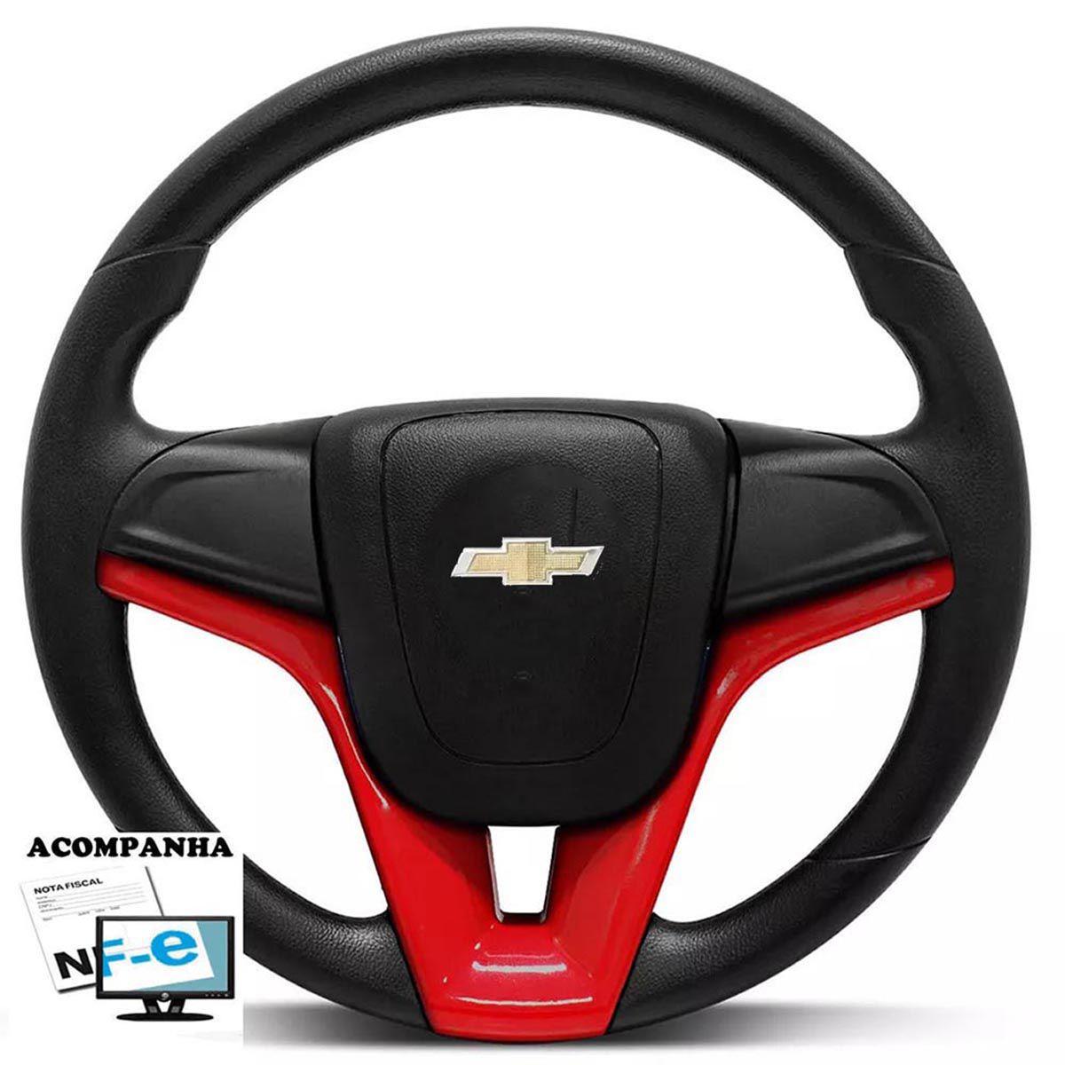 Volante Esportivo Cruze Corsa Celta Astra Monza Chevette S10 Blazer Silverado Meriva Zafira Omega Kadett Opala Chevrolet + Cubo Gm
