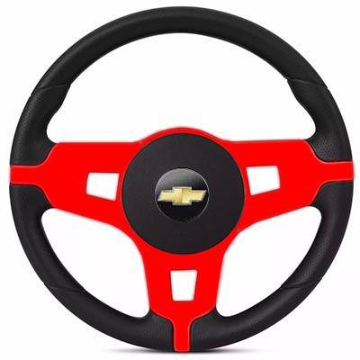 Volante Esportivo Mustang Corsa Celta Astra Monza Chevette S10 Blazer Silverado Meriva Zafira Omega Kadett Opala Chevrolet + Cubo Gm