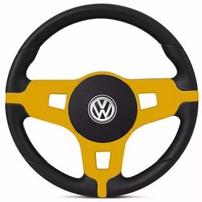 Volante Esportivo Mustang Gol Parati Saveiro Voyagen G1 G2 G3 G4 G5 Golf Fusca Brasilia Polo Kombi Santana Passat Volkswagen + Cubo Vw