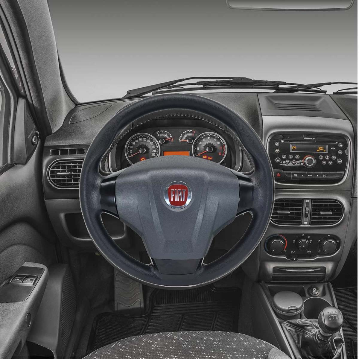 Volante Fiat Novo Idea Esportivo Cubo Palio Uno 1983 a 2013 Idea Stilo Strada Siena Punto