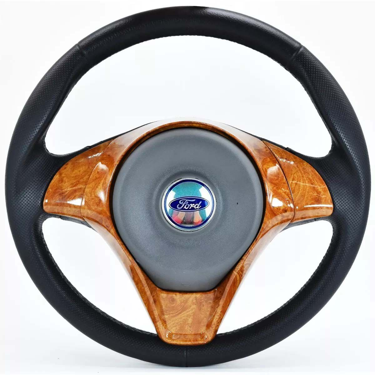 Volante Esportivo Palio Sporting Ford Ka Fiesta Escort Zetec Hobby Pampa F100 F1000 F75 F250 Verona Del Rey Belina Ecosport Logus Acionador de Buzia + Cubo