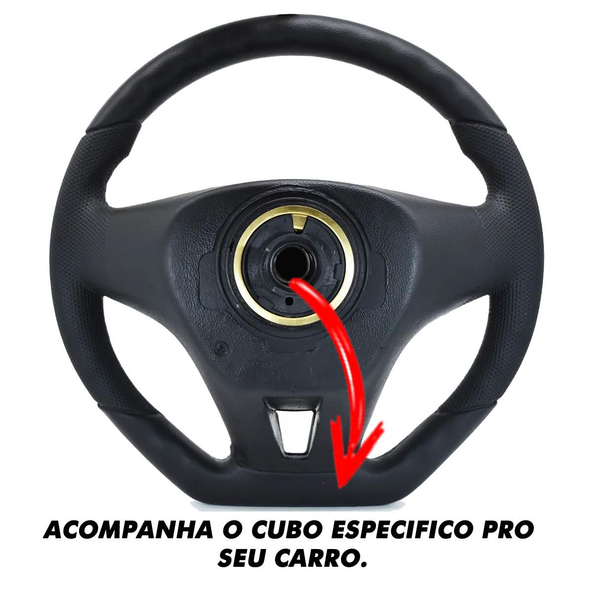 Volante Fiat Camaro Esportivo Cubo Atacado Poliparts