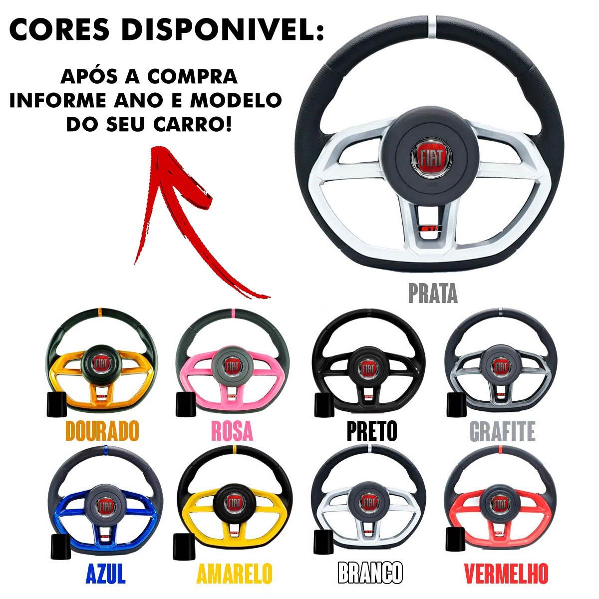 Volante Fiat Gti Esportivo Cubo Poliparts