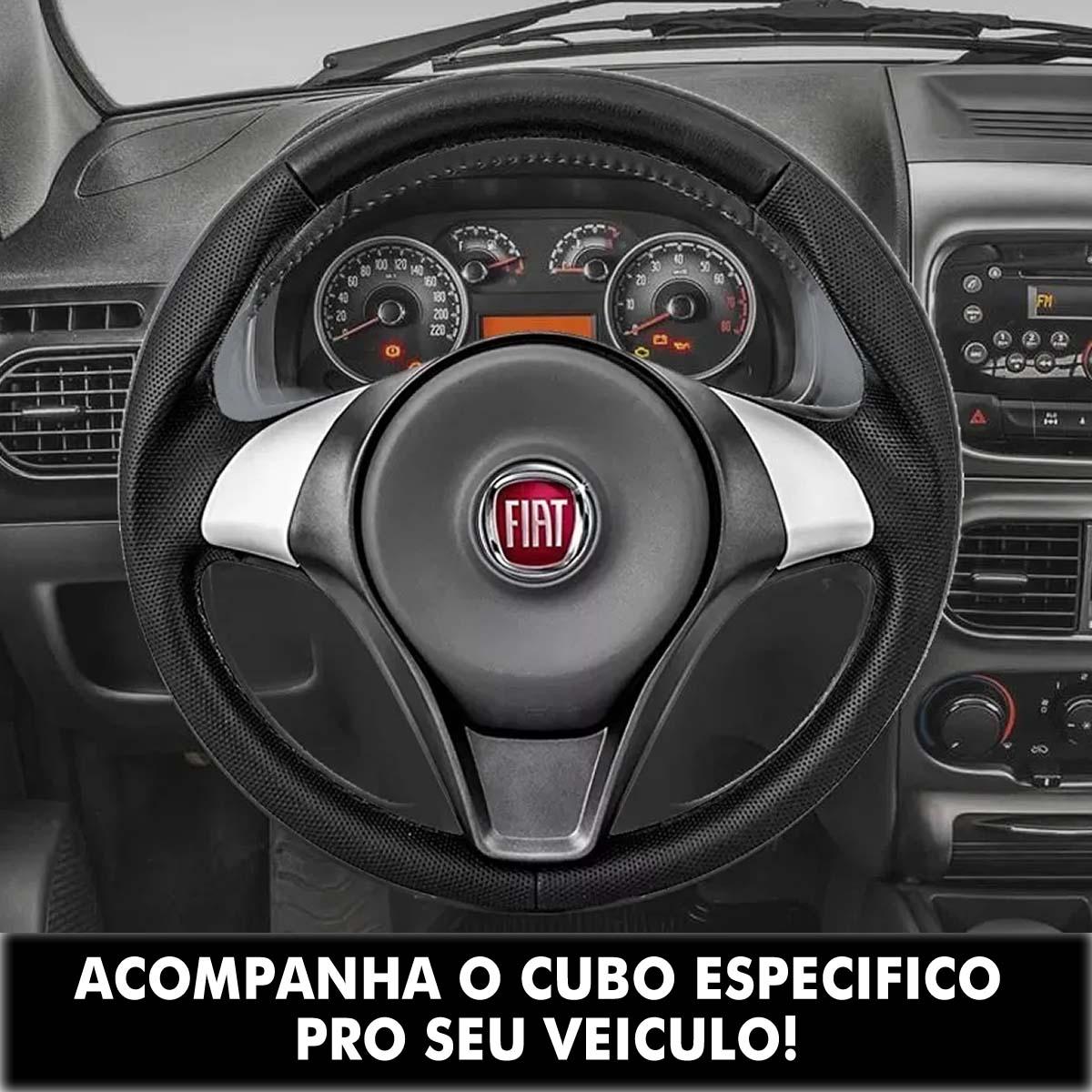 Volante Fiat Palio Sporting Esportivo Cubo Palio Uno 1983 a 2013 Siena Strada Punto Stilo Idea Poliparts