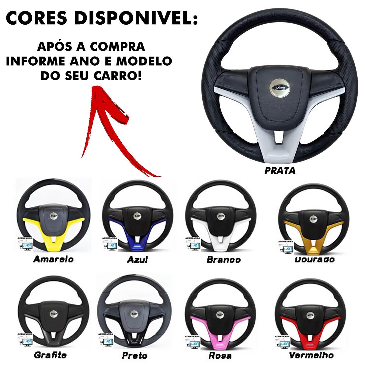 Volante Ford Cruze Esportivo Cubo Fiesta Ka Ecosport Escort Hobby Zetec F100 F1000 F75 F250 Poliparts