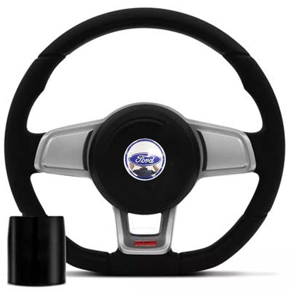 Volante Ford Mk7 Esportivo Cubo Fiesta Ka Ecosport Escort Hobby Zetec F100 F1000 F75 F250 Poliparts