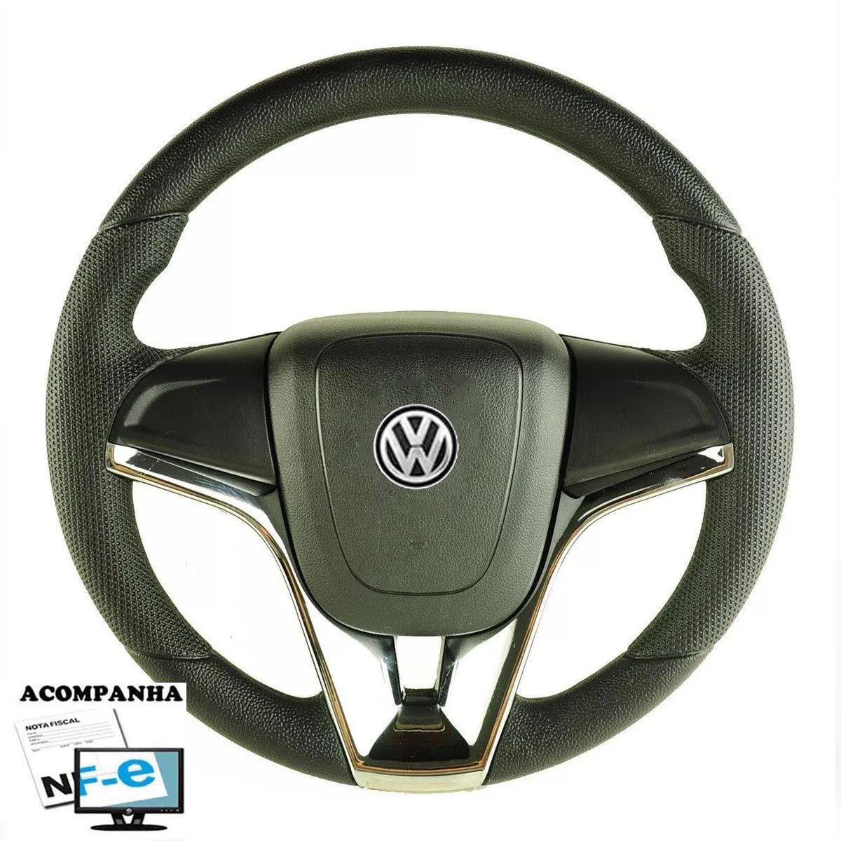 Volante Esportivo Cruze Gol Parati Saveiro Voyagen G1 G2 G3 G4 G5 Golf Fusca Brasilia Polo Kombi Santana Passat Volkswagen + Cubo Vw