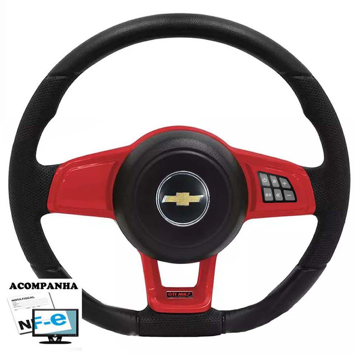 Volante Multifuncional Chevrolet Mk7 Esportivo Cubo Corsa Classic Wind Premium Joy Max Celta Poliparts