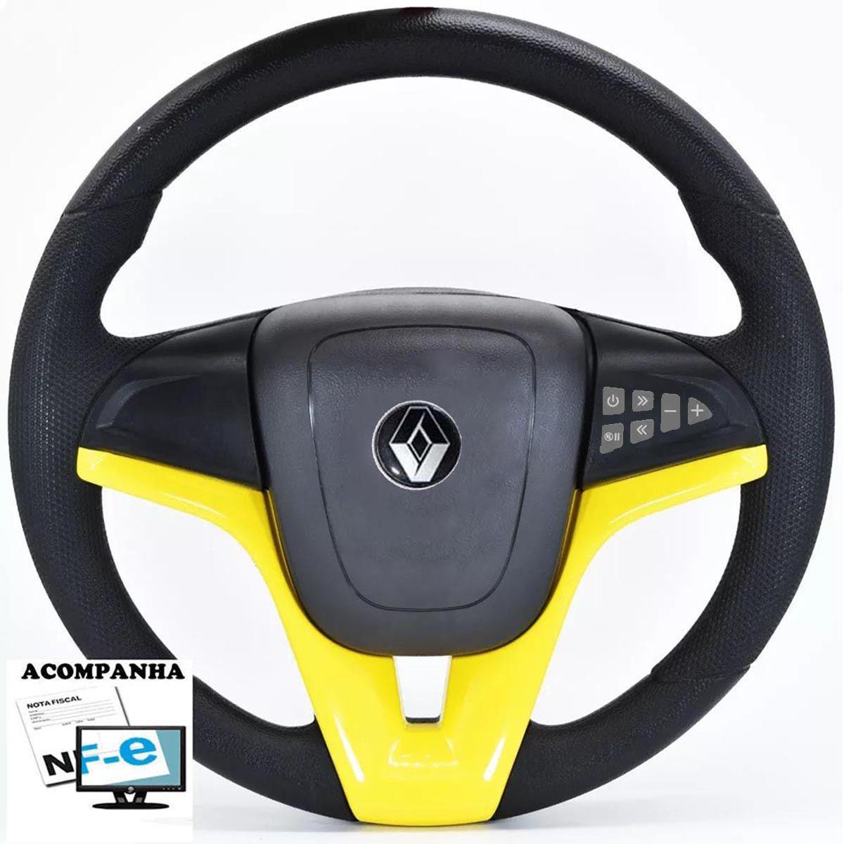 Volante Multifuncional Renault Cruze Pelicula Esportivo Cubo Atacado Poliparts