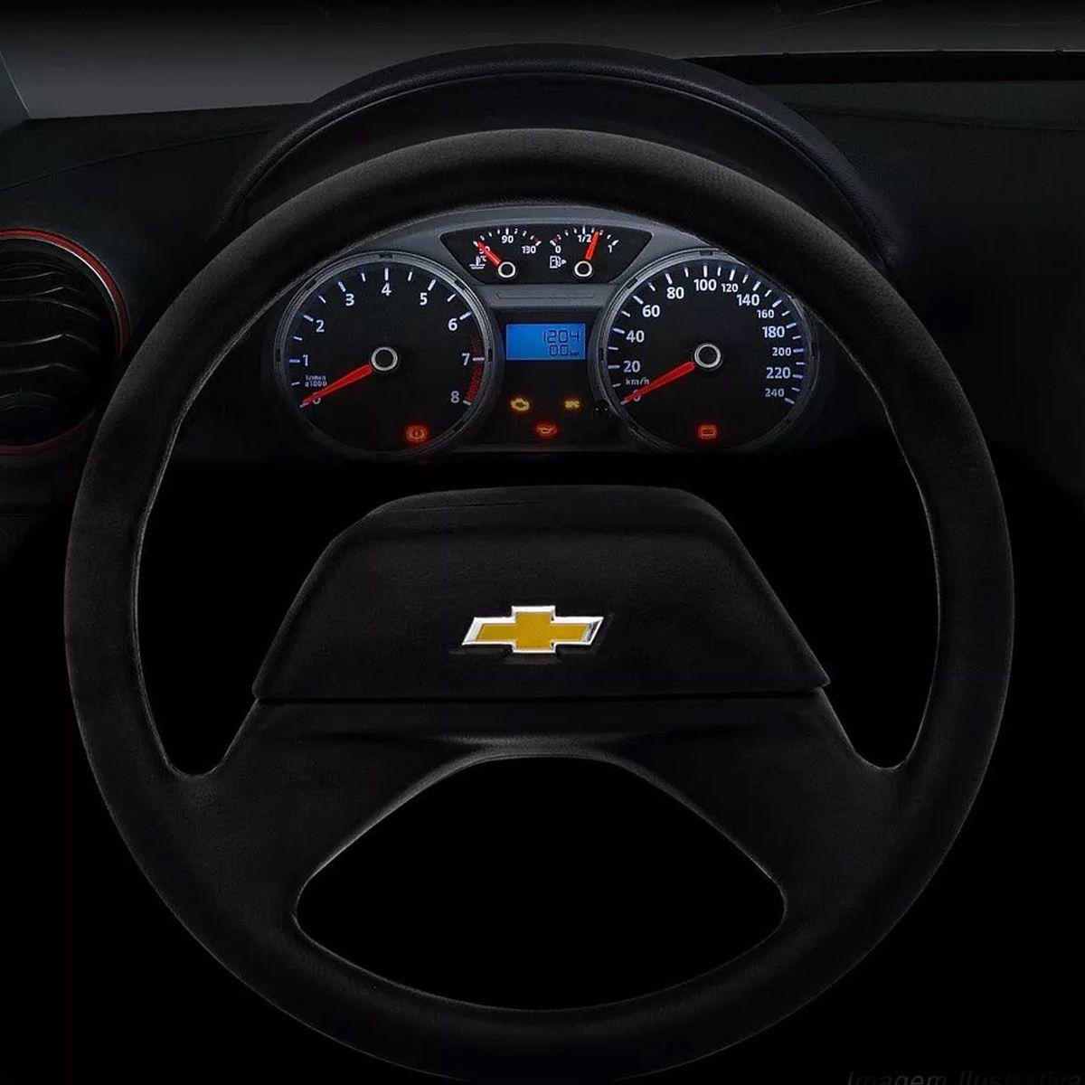 Volante Original D20 1993 1994 1995 1996 1997 1998 1999 Chevrolet Tampa Acionador de Buzina + Cubo Gm