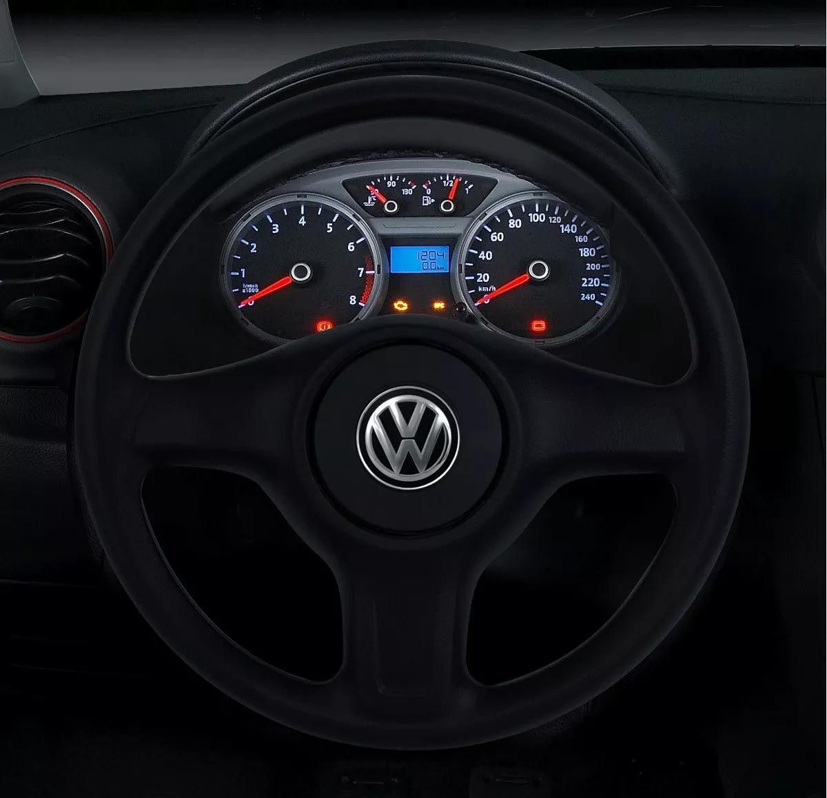 Volante Original Volkswagen G5 Cubo Gol G5 Polo Golf Fox Spacefox Crossfox Poliparts
