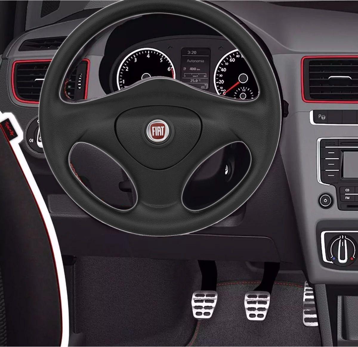 Volante Original Fiat Fire Cubo Palio Uno 1983 a 2013 Siena Strada Stilo Punto Poliparts