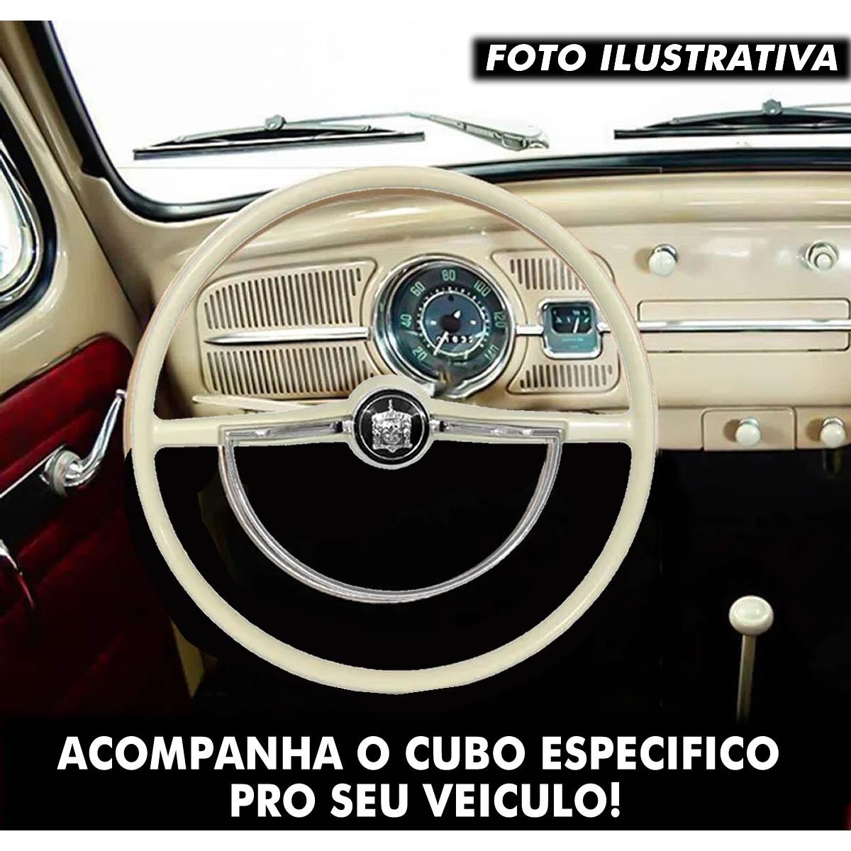Volante Original Volkswagen Cálice Cubo Fusca 1959 a 1996 Brasilia 1973 a 1982 Poliparts