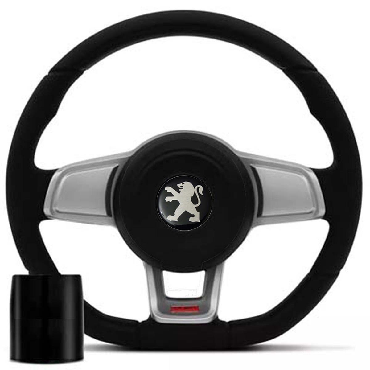 Volante Peugeot Mk7 Esportivo Cubo 106 206 306 Sw Poliparts