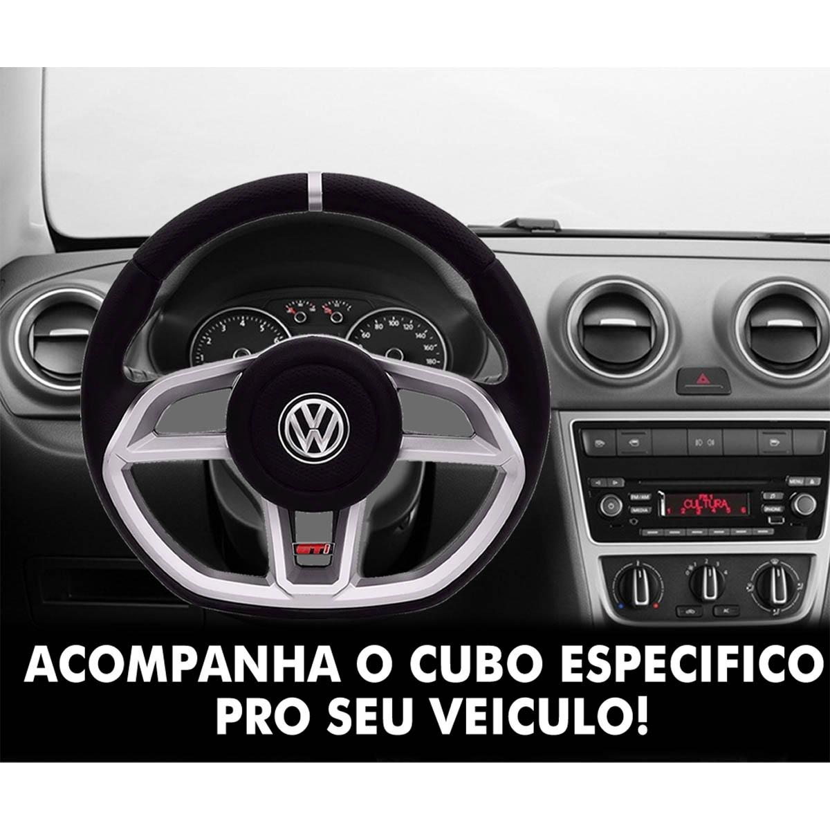 Volante Volkswagen Gti Esportivo Cubo Atacado Poliparts